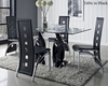 Modway Quarry Dining Set with Tuxedo Chairs MY-EEI-677TSET