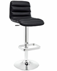 Modway Ripple Bar Stool in Black MY-EEI-1032