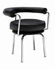 Modway Saloon Dining Armchair in Black MY-EEI-288