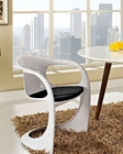 Modway Sequence Dining Armchair in Black MY-EEI-1086