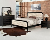 Modway Tommy Bedroom Set in Black MY-MOD-5022SET