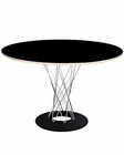 Modway Typhoon Dining Table in Black MY-EEI-241