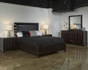 Najarian Bedroom Set w/ Panel Bed Delano NA-DE3SET