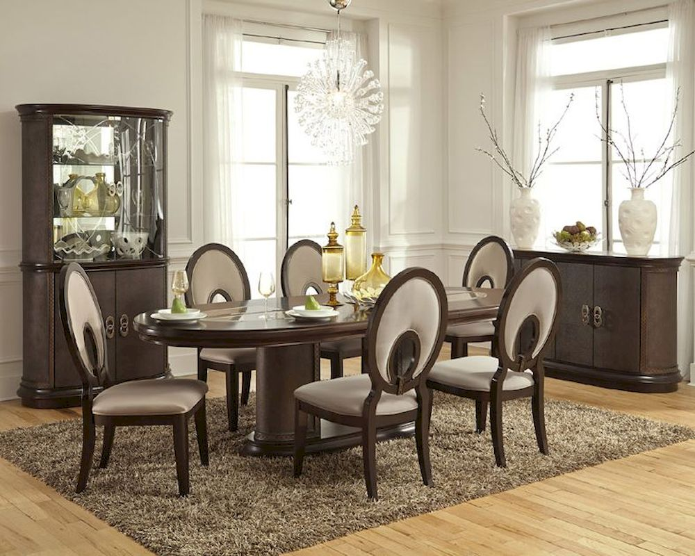 home buffets napkins ideas traditional plates vas formal sets mirror simple wooden dining for design glamorous small candles table glasses chairs you room flowers lamps