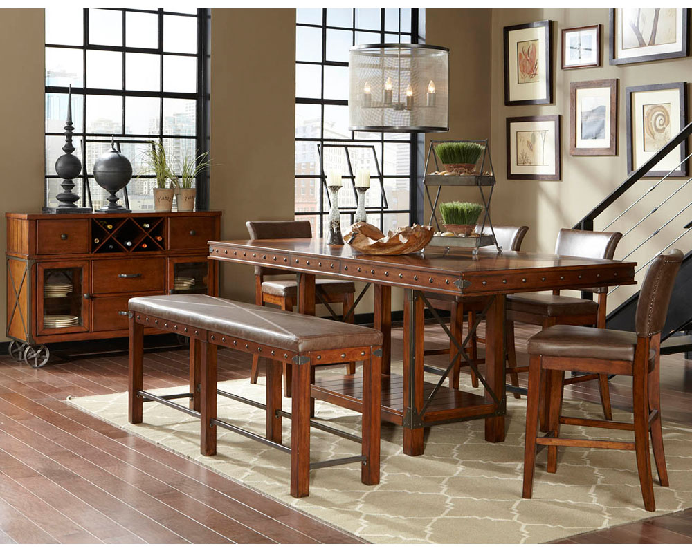 Najarian Furniture Counter Height Dining Set Manchester Na Ma Chset