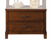 Najarian Furniture Curio Base Manchester NA-MA-CRBS