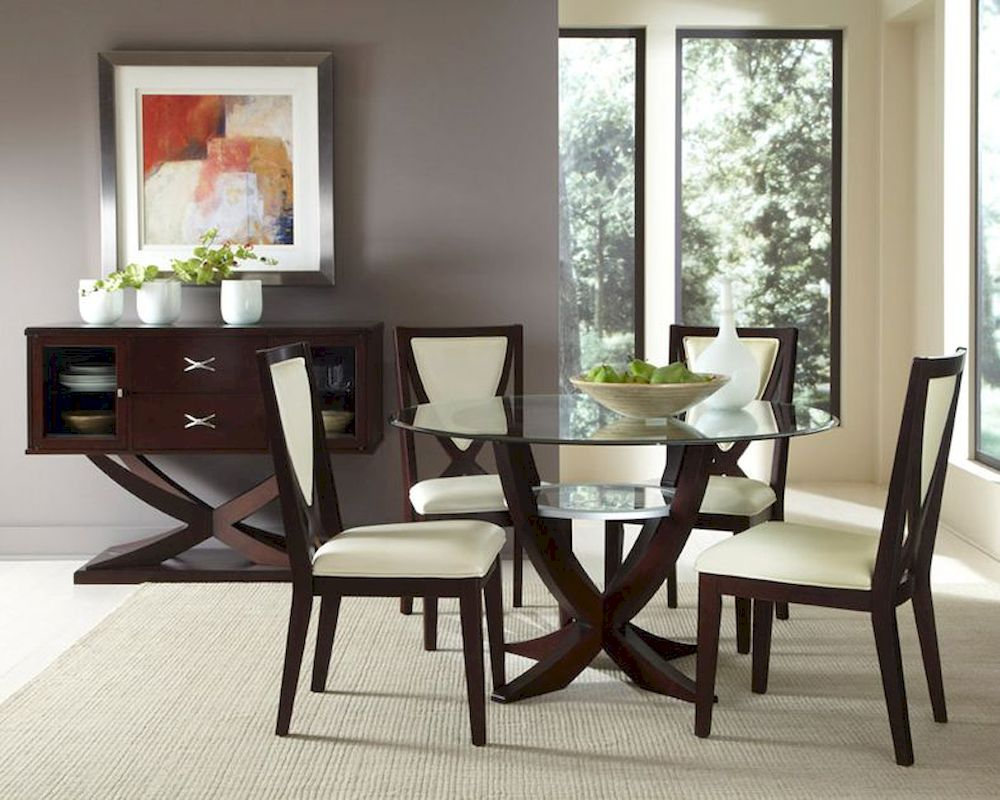 Najarian furniture dining room set versailles na ve dset for Images of dining room tables