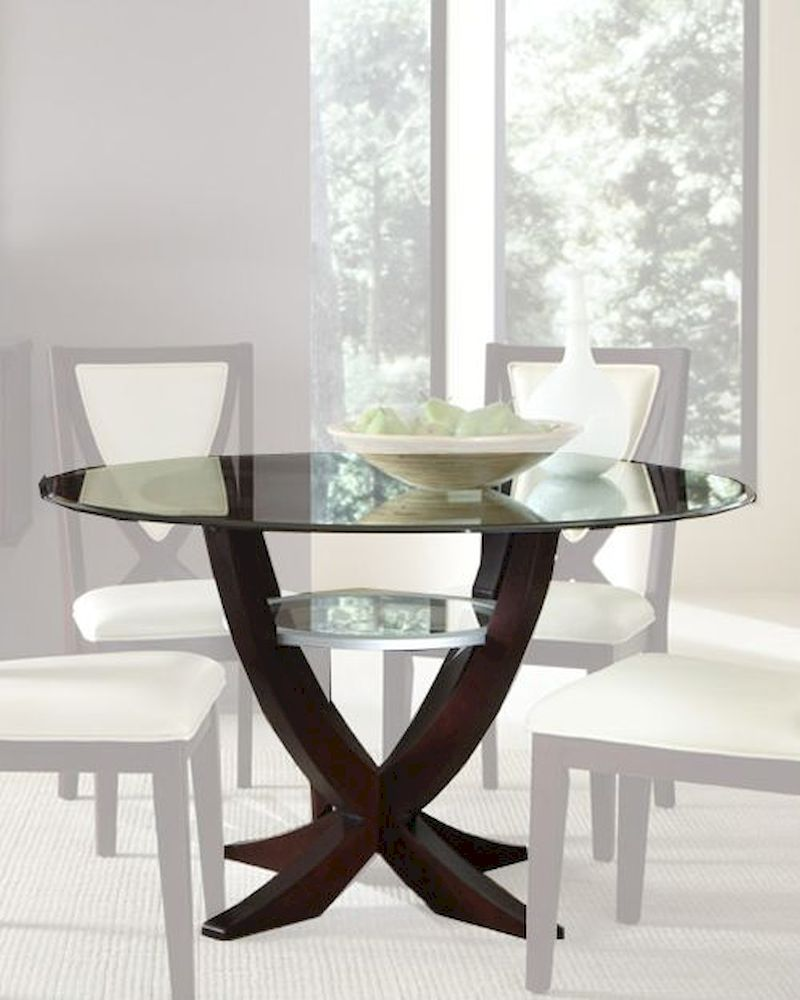 Najarian furniture glass top dining table versailles na ve for Glass top dining table next