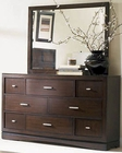 Najarian Furniture Dresser and Mirror Key West NA-KWDRMR