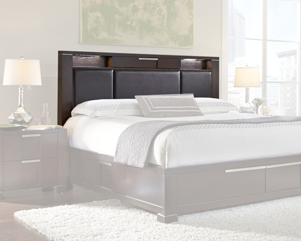 Najarian Furniture Contemporary Bedroom Set Studio Na Stbset: Najarian Furniture Headboard Studio NA-STHB