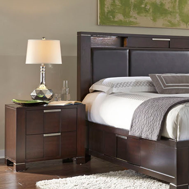 Najarian Furniture Contemporary Bedroom Set Studio Na Stbset: Najarian Furniture Night Stand Studio NA-STNS