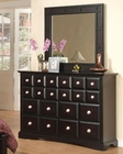 Najarian Furniture Palazzo Dresser with Mirror NA-PADRMRE