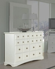 Najarian Furniture Palazzo Youth Dresser in White NA-PADRW