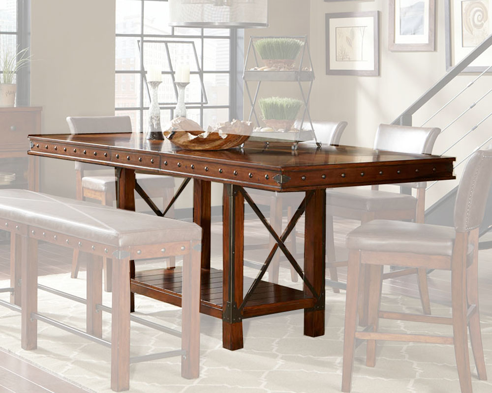 Najarian Furniture Rectangular Counter Height Table Manchester NA MA CHTAB
