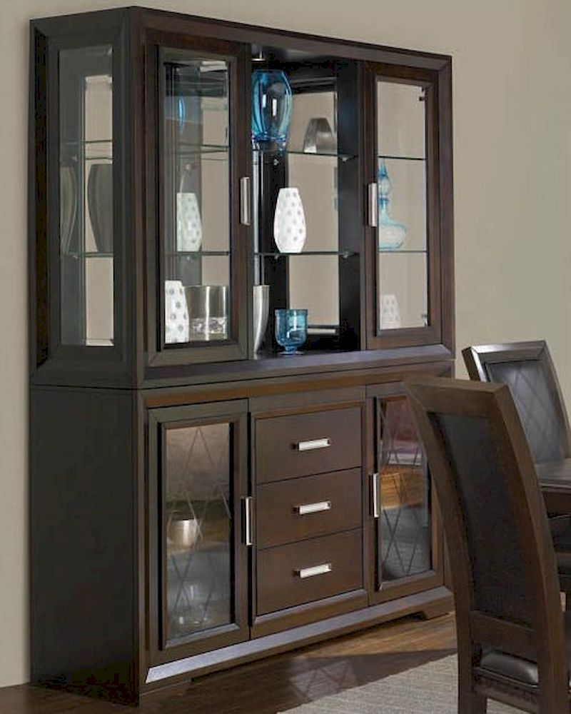 Najarian Furniture Server And Hutch Brentwood NA BDSVH