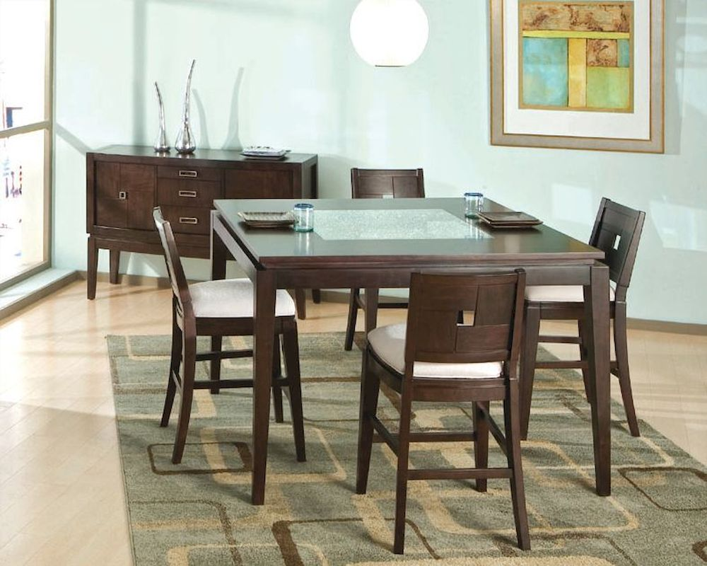 Najarian Furniture Spiga Counter Height Dining Set Na Sp5cset