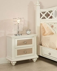 Najarian Furniture Youth 2 Drawer Night Stand Paris NA-PR-YNS