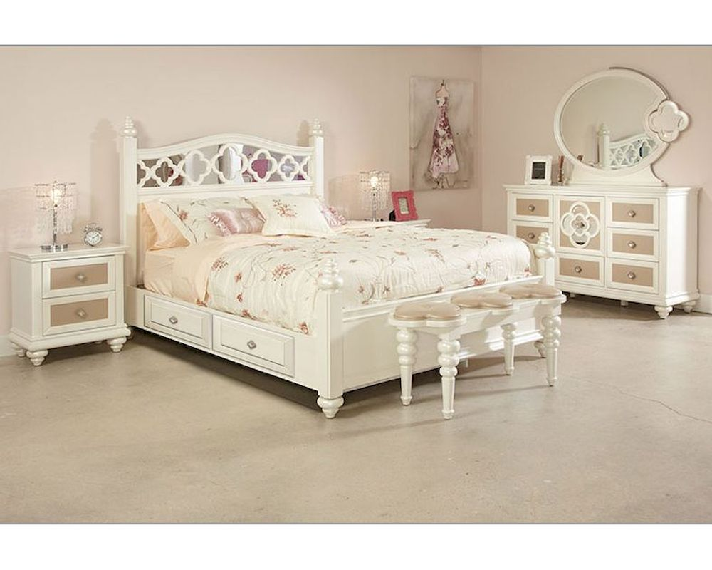 najarian furniture youth bedroom set paris naprybset