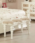Najarian Furniture Youth Bedside Bench Paris NA-PR-YBN