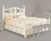 Najarian Furniture Youth Panel Bed Paris NA-PR-YPNBED