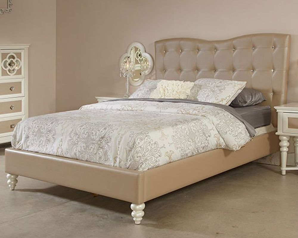 Najarian Furniture Youth Upholstered Bed Paris Na Pr Yupbed