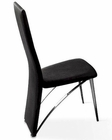 Nicola Black Side Chair 44DCY86BL (Set of 2)