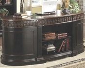 Nicolas Traditional Oval Executive Double Pedestal Desk CO800921