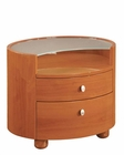 Night Stand Elma Modern Style in Cherry Finish 35B13