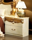 Night Stand Gold Baroque Classic Style Made in Italy 33B423
