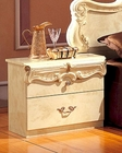 Night Stand Ivory Baroque Classic Style Made in Italy 33B413