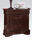 Nightstand in Cherry Finish Gwyneth by Acme Furniture AC21863