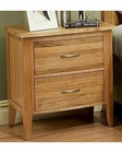 Nightstand in Light Oak Finish Firefly County by Ayca AY-22-0661