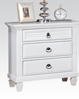 Nightstand Merivale White Acme AC22423