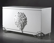 Nora Modern White Lacquer Small Buffet 44DLS510A