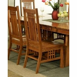 Ordinaire Oak Brentwood Side Chair Bungalow By Ayca AY AP5 2006 (Set Of 2