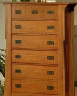 Oak Chest in Cherry Finish Bungalow by Ayca AY-AP5-0629