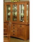 Oak China Cabinet Bungalow by Ayca AY-AP5-2004