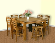 Oak Counter Height Dining Set SU-1245ROs