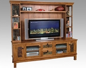 Oak Entertainment Center SU-2702RO-TC-H