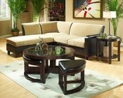 Occasional Table Set Brussel by Homelegance EL-3219PU-01-SET