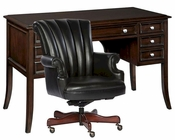 Office Set w/ Rectangular Desk by Hekman HE-27210-SET