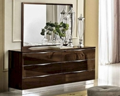 Onda Dresser and Mirror in Modern Style 33190OD
