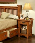 One-Drawer Nightstand HeArtland Manor by Ayca AY-18-0660