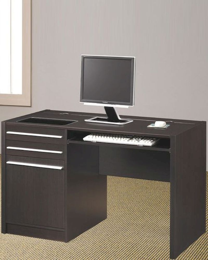 Computer Desk Contemporary contemporary computer desk with charging station co800702