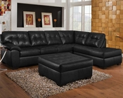 Onyx Finish Sectional Sofa Set Shi by Acme Furniture AC50615SET