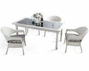 Ornella Outdoor Patio 5pc Dining Set 44PH20