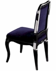 Ornella Purple Velvet Side Chair 44DAC017 (Set of 2)