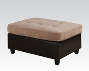 Ottoman Milano Camel by Acme Furniture AC51232
