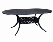 Outdoor Dining Table Newport by Sunny Designs SU-4701AB-72