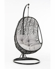 Outdoor Hanging Chair in Contemporary Style 44P391